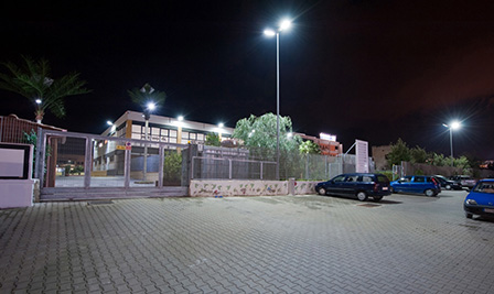 LED Street Light in Molfetta Italy