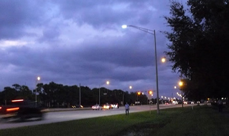 BBE LED Street Light LD144 was installed in US already