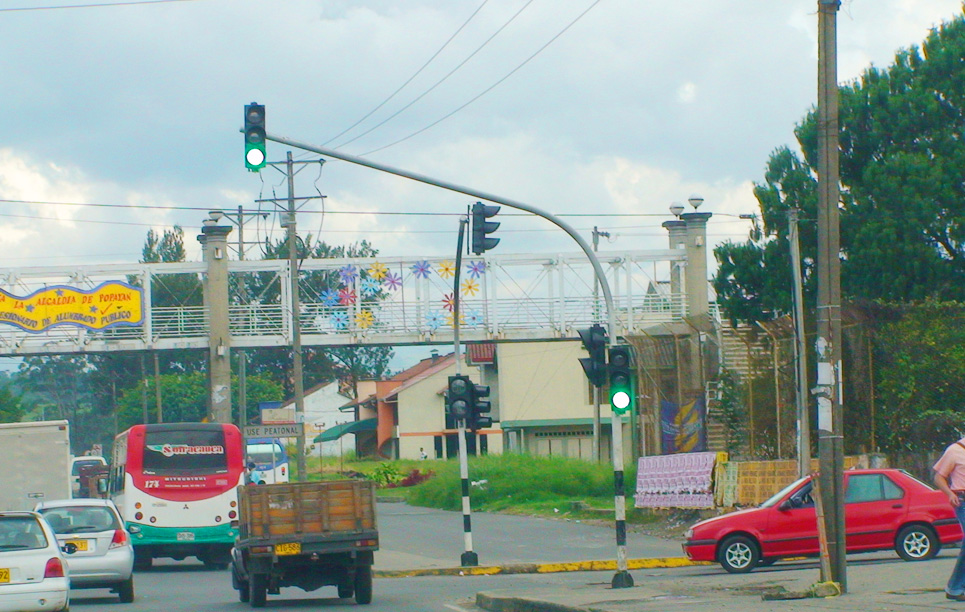 LED Traffic Light in Colombia