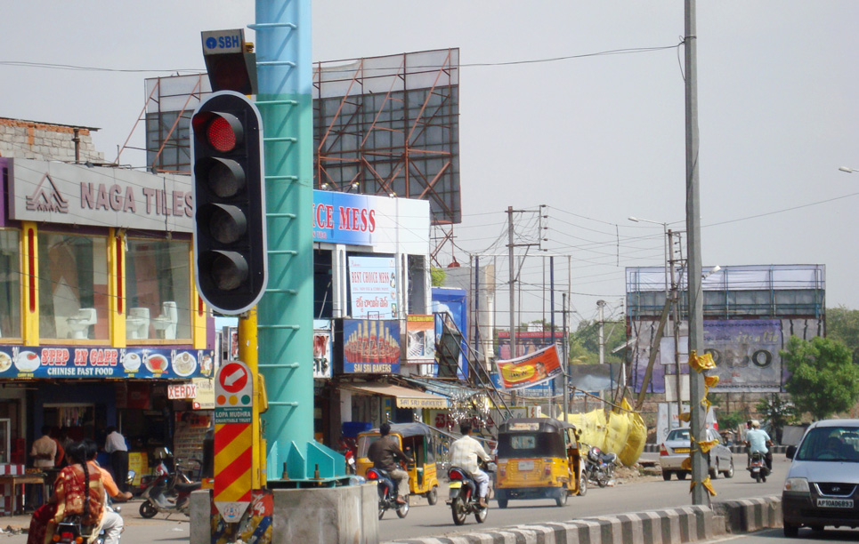 LED Traffic Light in Hyderabad India2