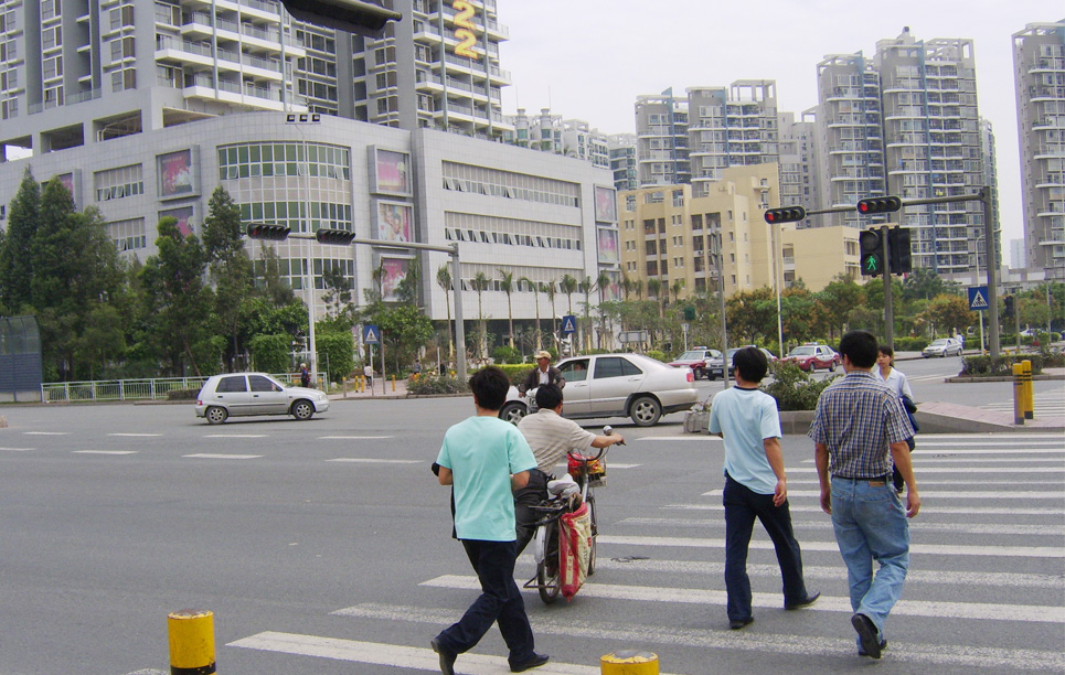 LED Traffic Light Project in Shenzhen China