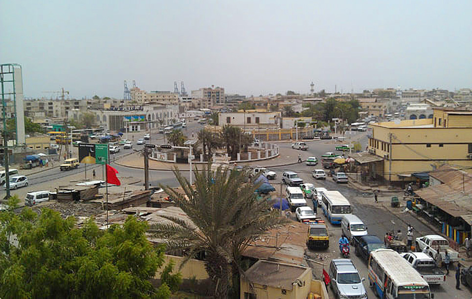 BBE Wireless Solar Traffic Lights in Djibouti