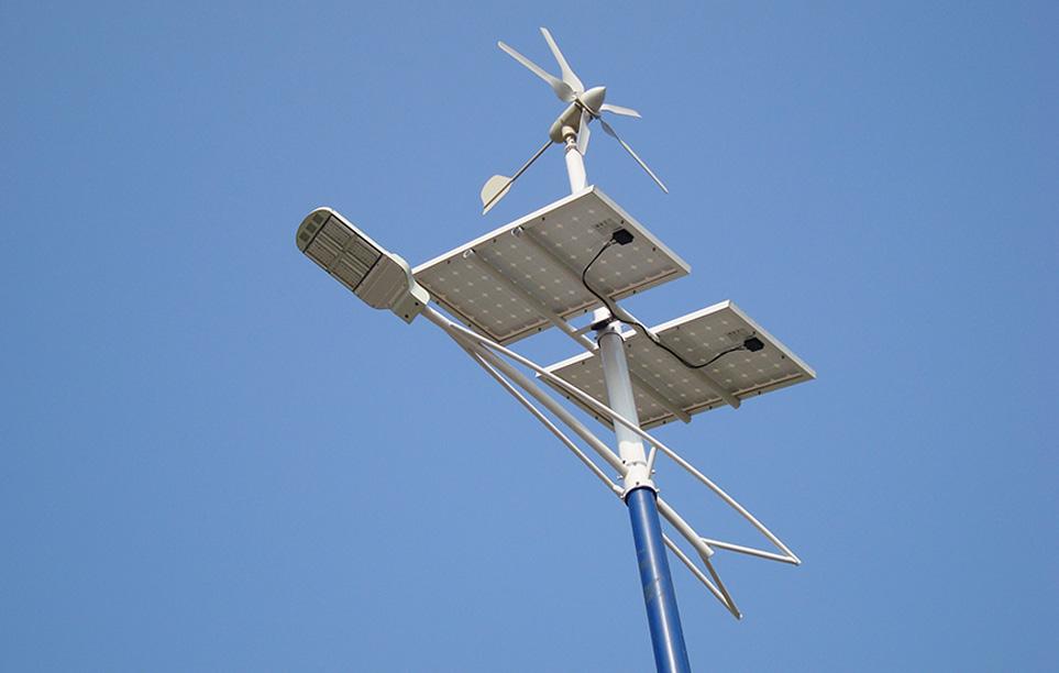Solar And Wind Turbine Led Street Light Lu4 In China