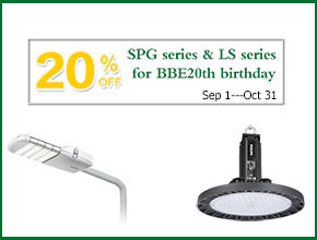 20% off for BBE 20th birthday