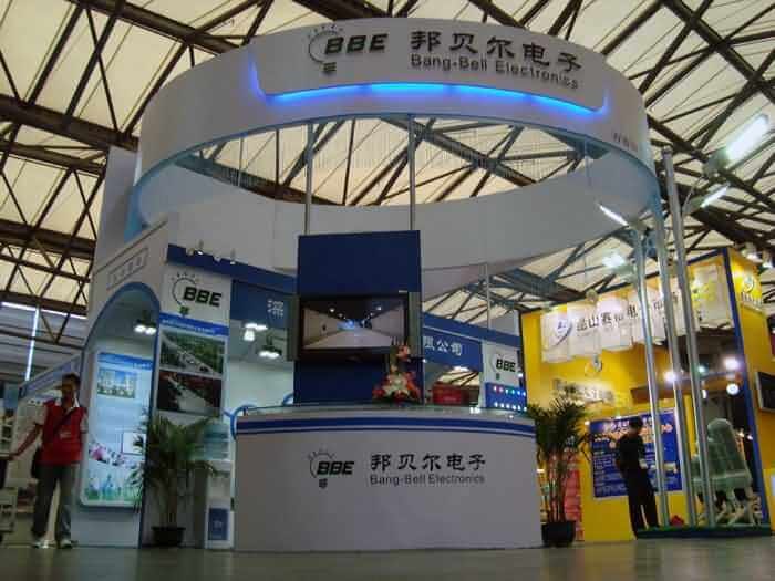 BBE LED Attended the Shanghai International LED Exhibition